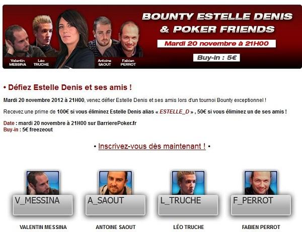 Estelle & Poker Friends