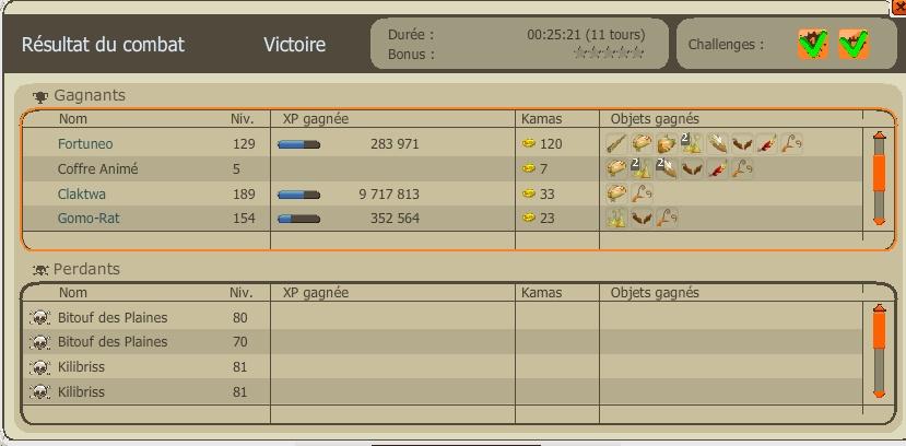 Vos meilleurs combats niveau xp ! Sassad11