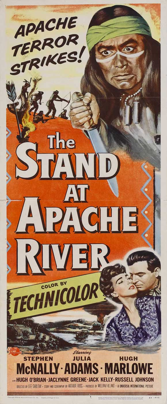 The Stand at Apache River- 1953- Lee Sholem 45964410