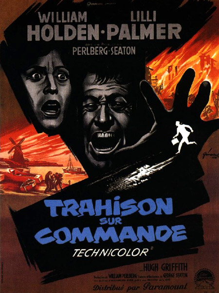 Trahison sur commande- The Counterfeit Traitor- 1962- George Seaton Affich10