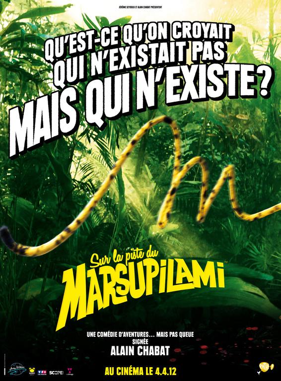 Sur la piste du marsupilami- 2012 - Alain Chabat Affich19