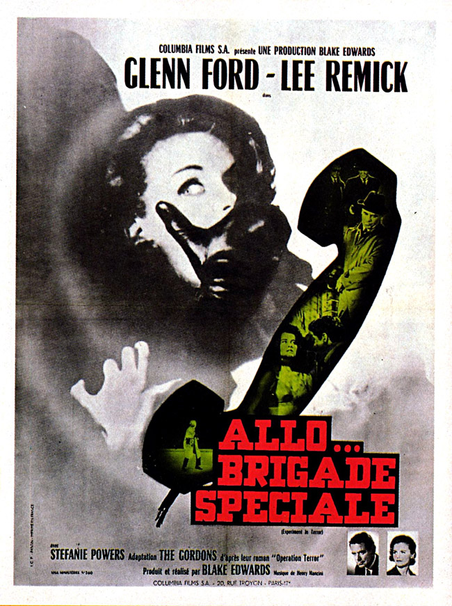 Allo Brigade spéciale- Experiment in terror -1962- Black Edwards Allo-b10