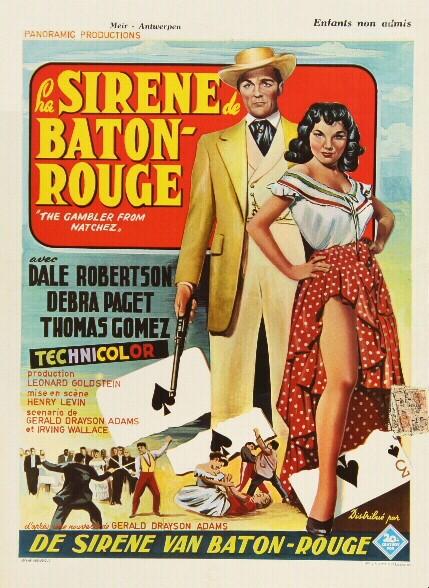 Natchez- The Gambler from Natchez- 1954- Henry Levin Sansti23