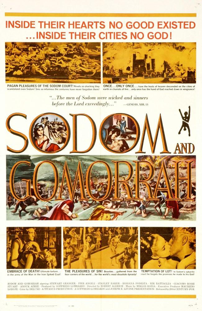 Sodome et Gomorrhe- 1962- Robert Aldrich et Sergio Leone  Sodome11