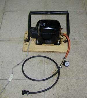 Como fabricarse un compresor casero 2210