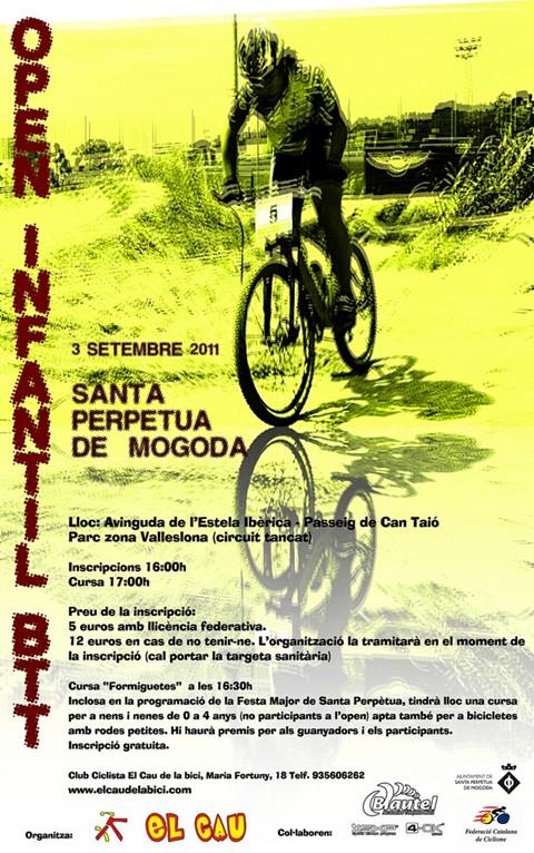OPEN INFANTIL BTT 3/9/2011 Poster10
