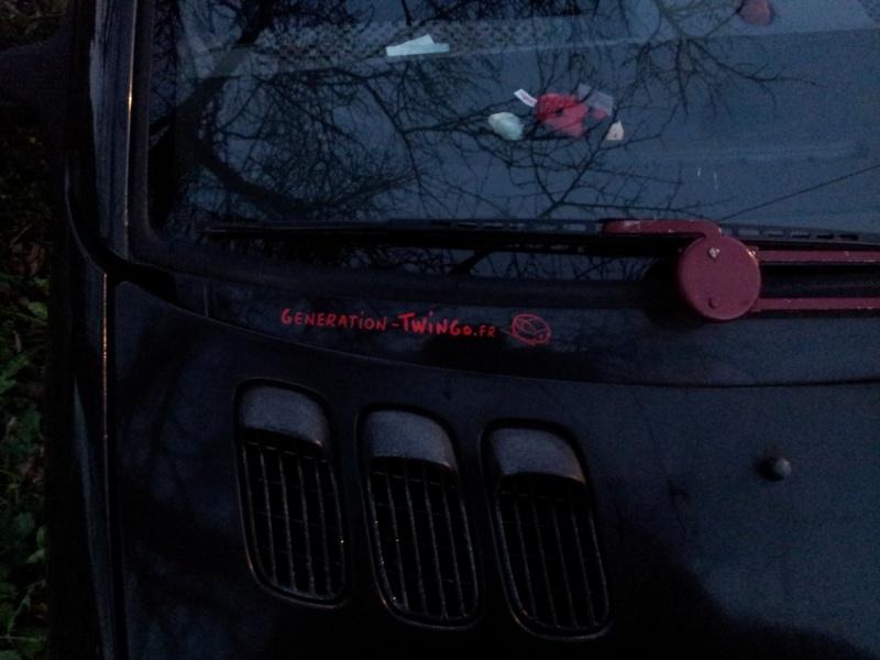Commande : Autocollant Generation Twingo 20111210