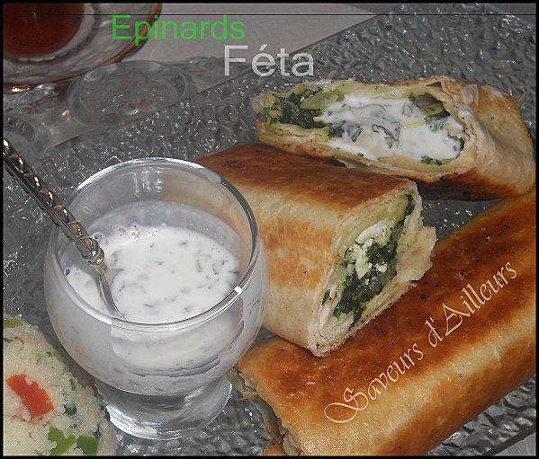 Bourek Turcs Epinards- Féta Bourek12
