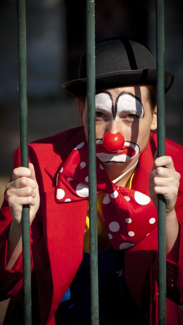 Série: Clown triste 95910
