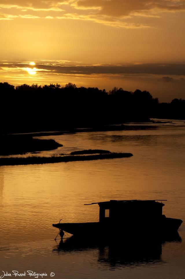 Fin de journée sur la Loire Barque10