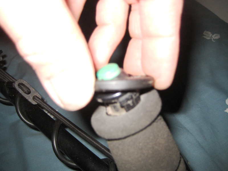 Q: Has anyone changed the rubber on their 5000 Quick-Trak button handle? Img_3212