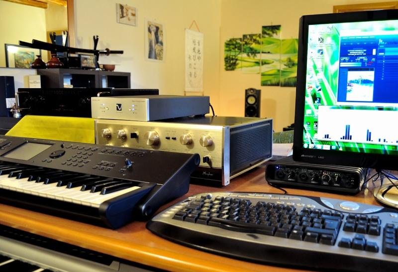 "Audiolab M-DAC, YAMAHA P2500S, e l'impianto entry level con suono ""hi-end"" Ensemb10"