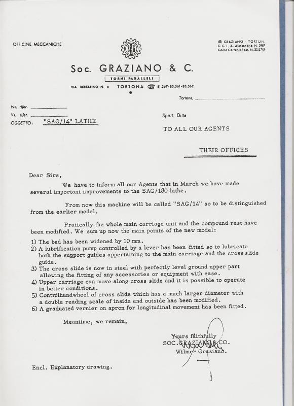 Graziano SAG 180  10248d10