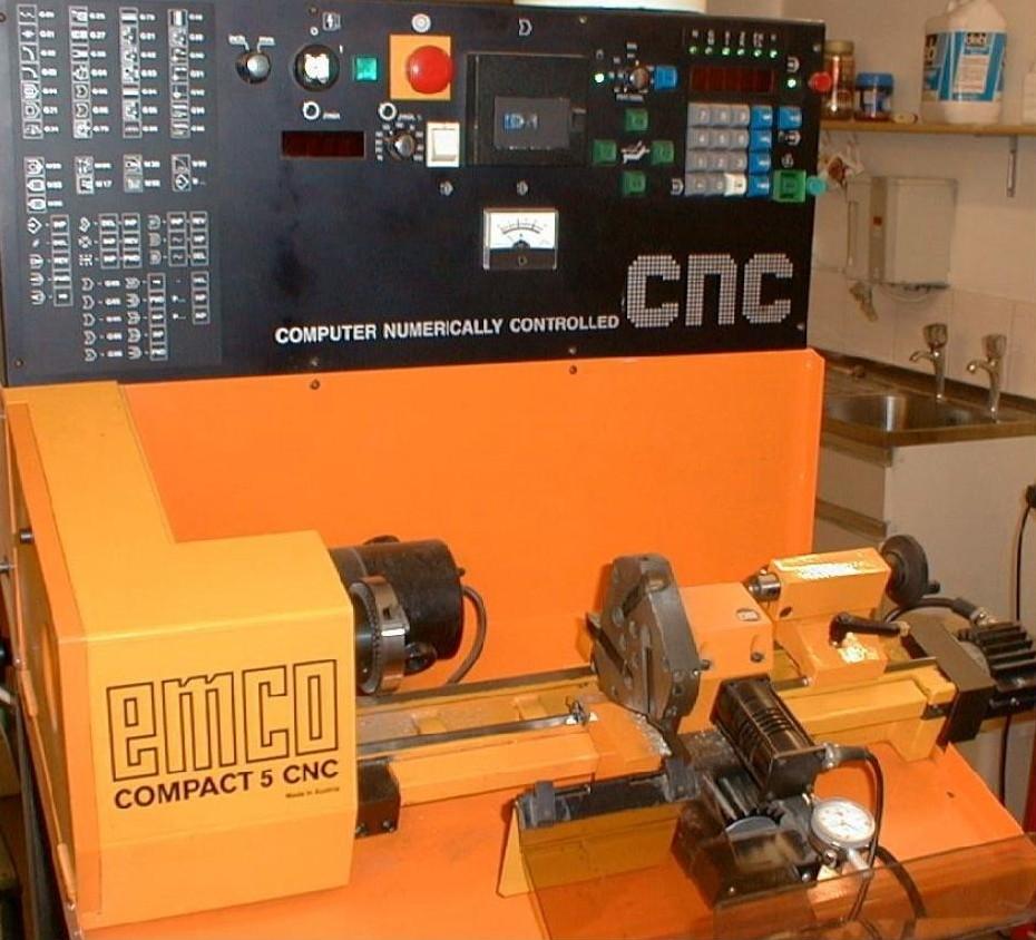 Emco compact 5 CNC  Em11
