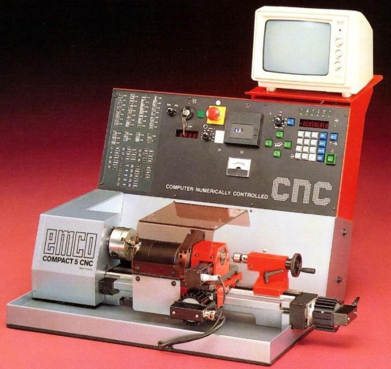 Emco compact 5 CNC  Em210