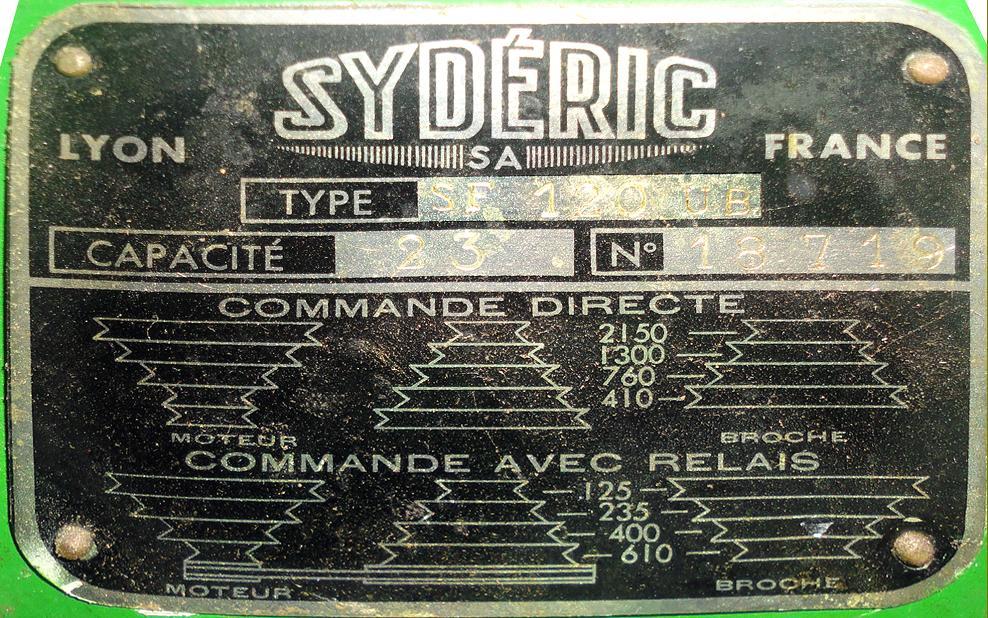 Syderic SF120UB Img1011