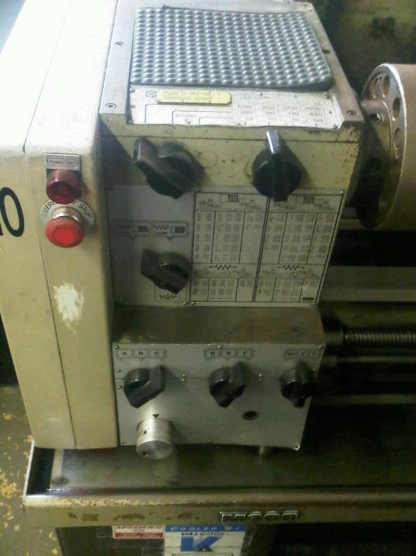 HARRISON M300 Lathe210