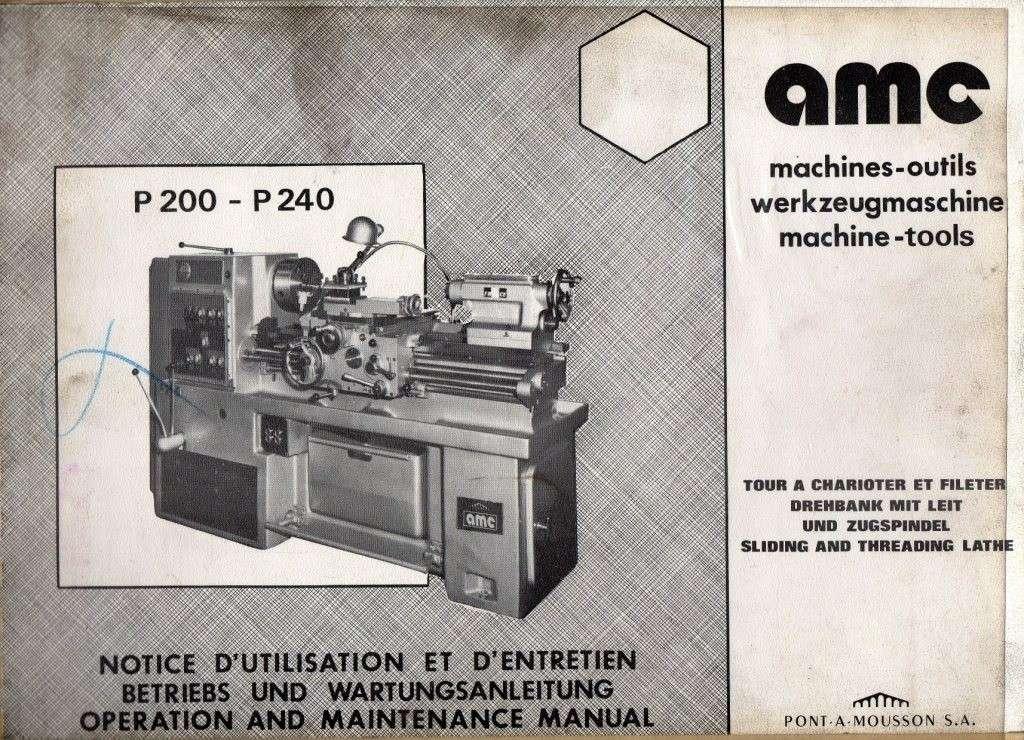 AMC P200 & P240 + P200R & P240R Notice10