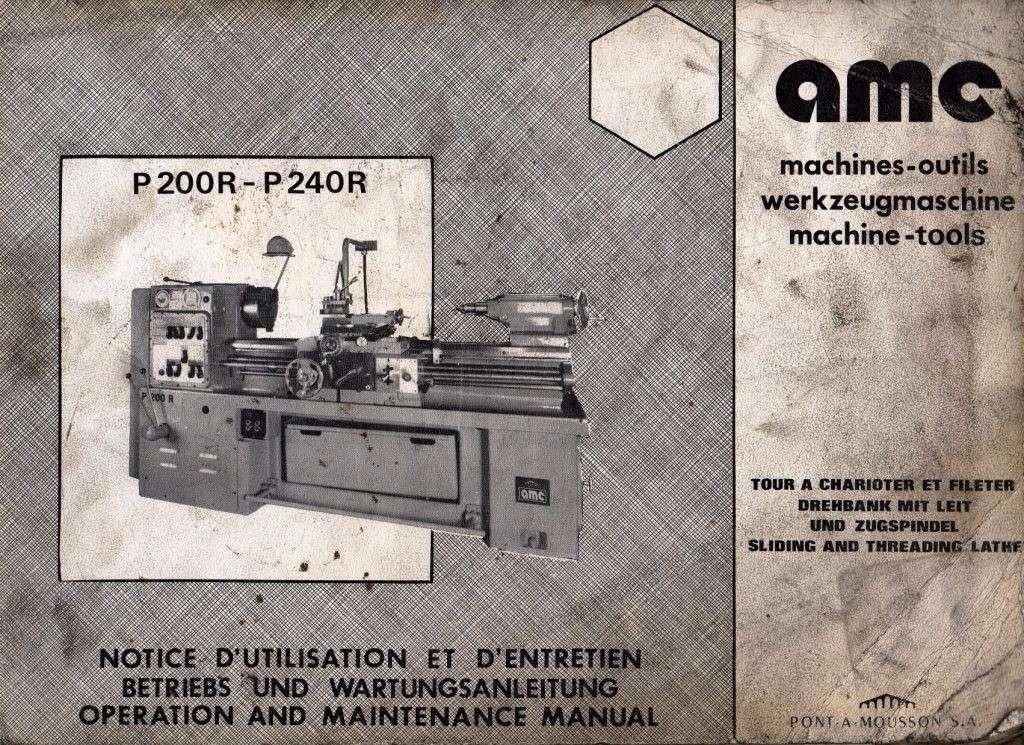 AMC P200 & P240 + P200R & P240R Notice14