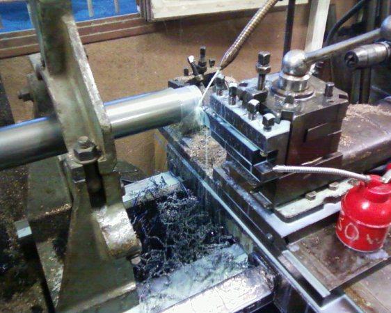 Tournage bagues bronze,matière première et fabrication appareil tournage sphérique Photos13