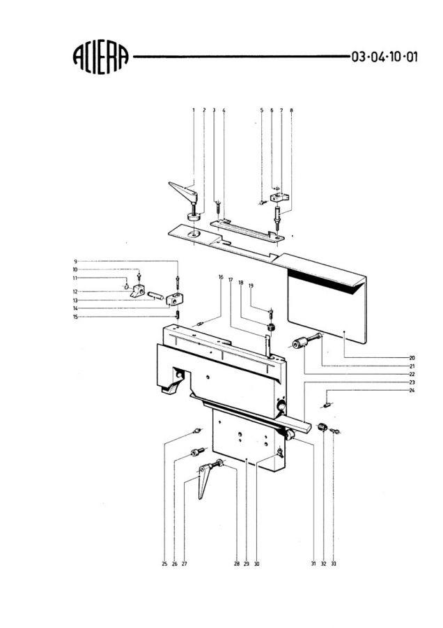 Aciera F3 Planch50