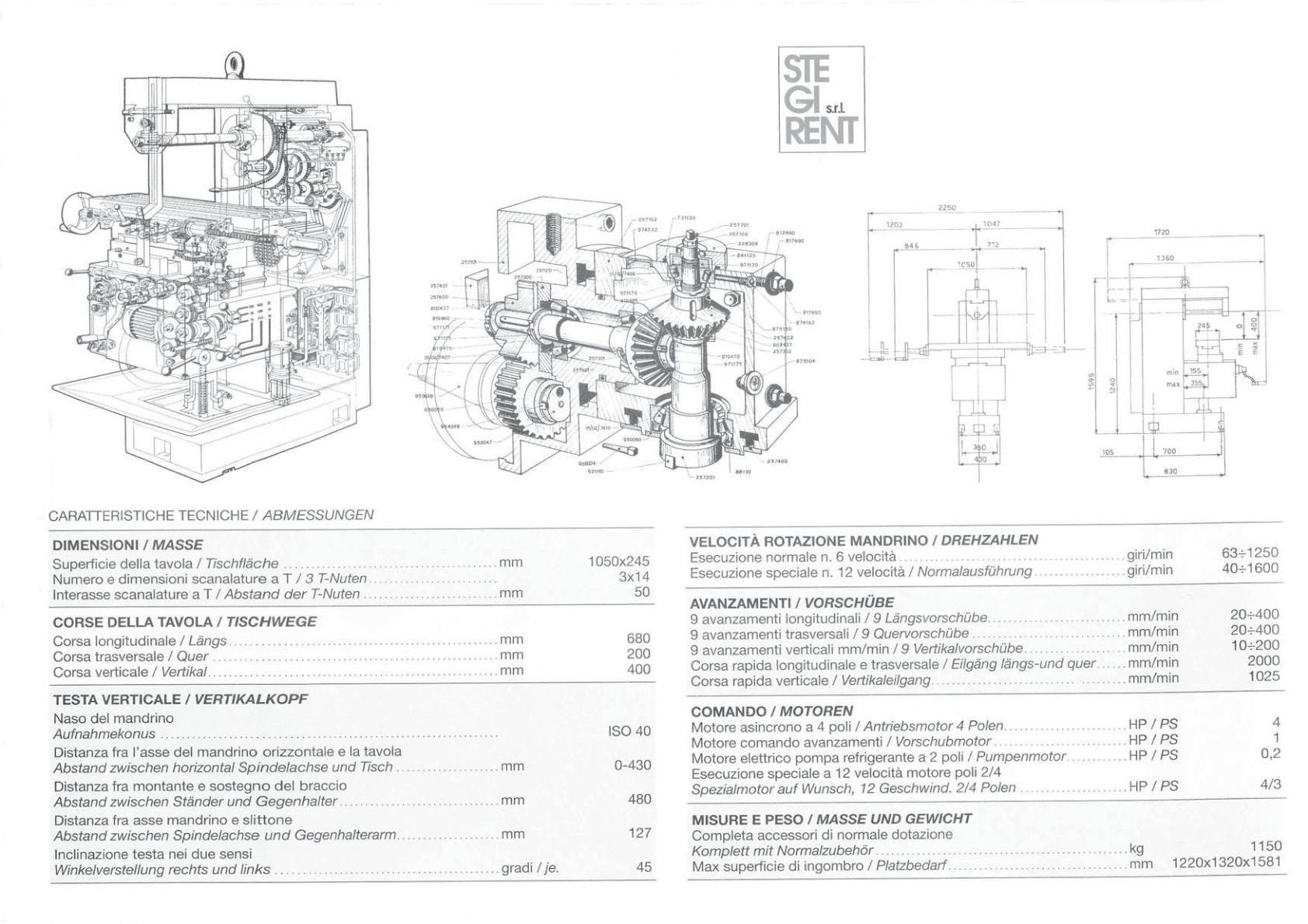Grazioli Esse 80 Uw1239