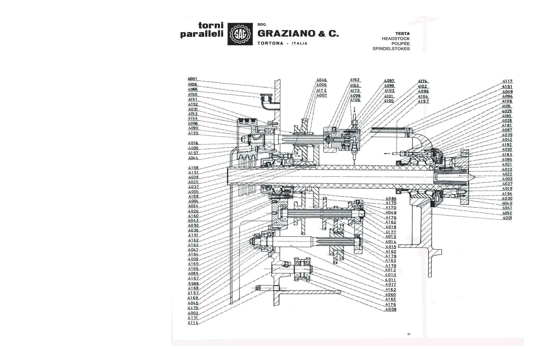 Graziano SAG 12 & 12S Uw41010
