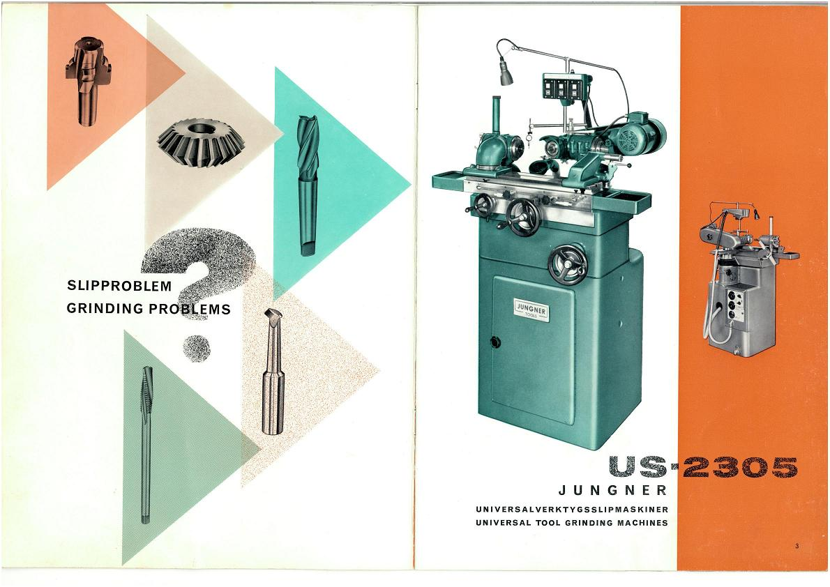 Jungner US-2305/UTG-214 affuteuse universelle Uw4227