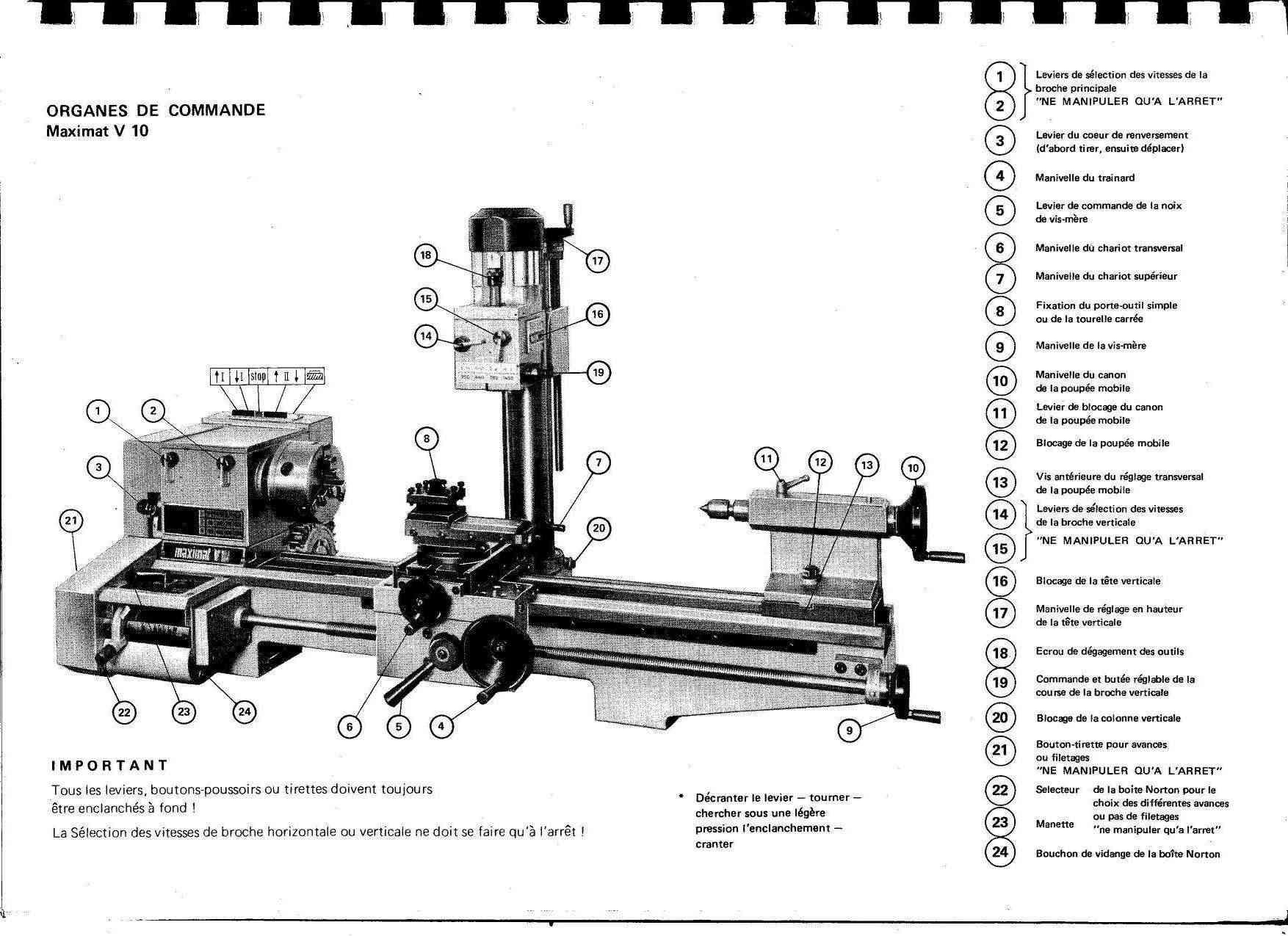 Emco Maximat V10 & V10 P (+ mentor10) Uw4617