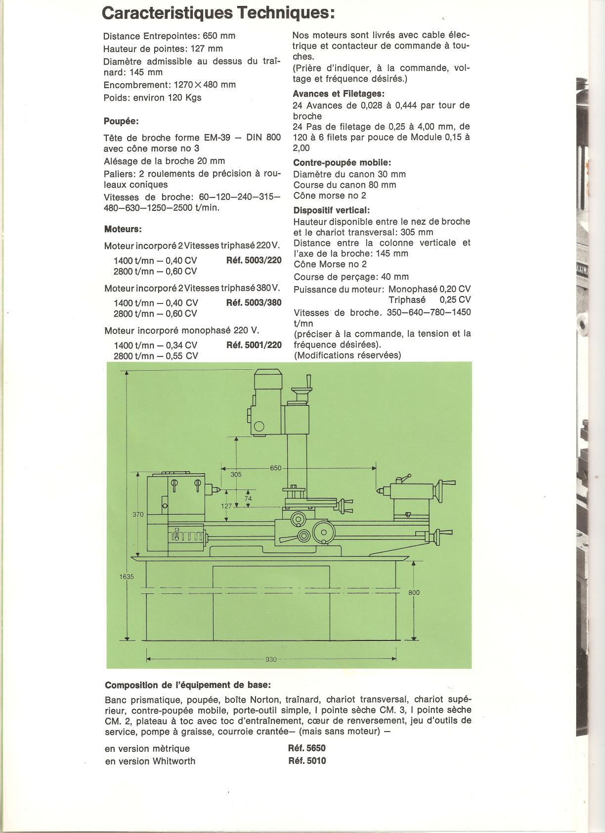 Emco Maximat V10 & V10 P (+ mentor10) Uw4618