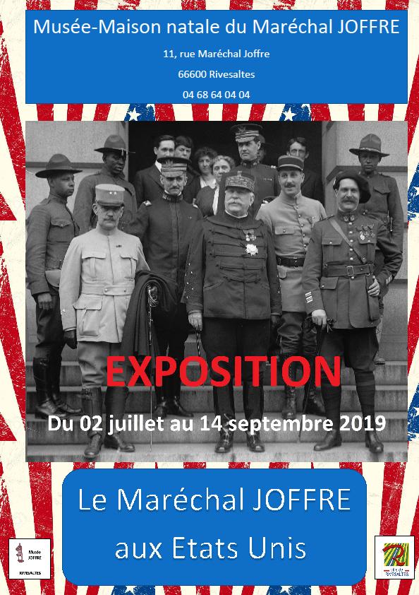 """Mon exposition temporaire """"le Maréchal Joffre aux etats unis""""  Affich10"""