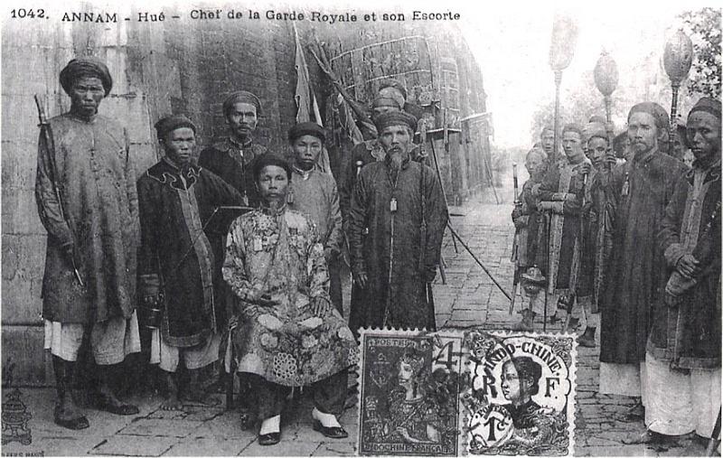 annam : bài ngà 牌牙 d'un officiel du musée d'histoire  Hue_ch10
