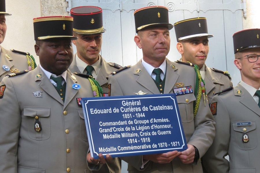 Le general de Castelnau (1919/2019) Plaque10