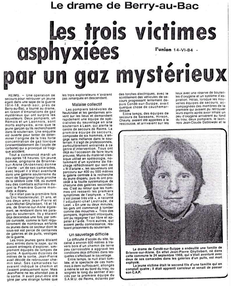 Drame du 12 Juin 1984 à la Côte 108 Drame110