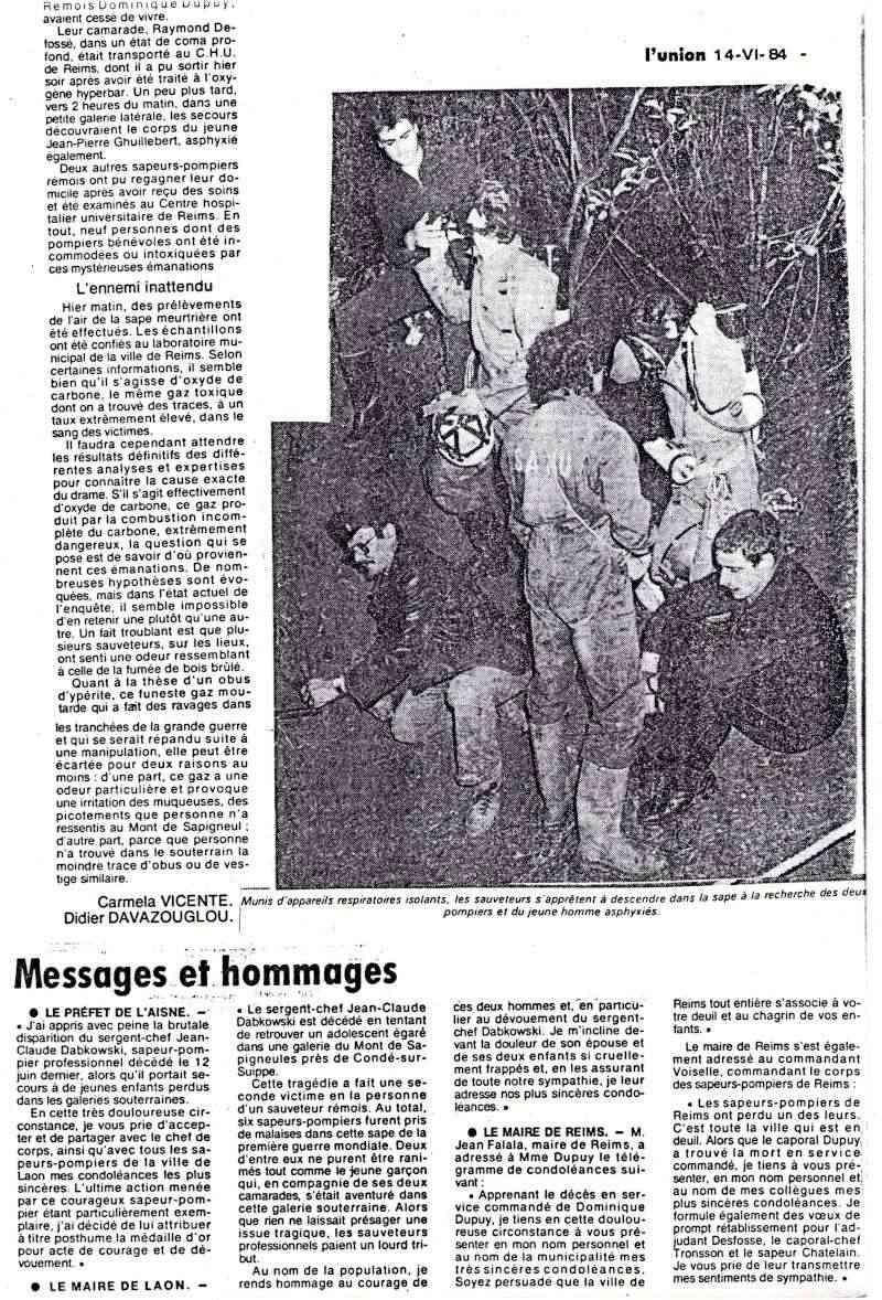 Drame du 12 Juin 1984 à la Côte 108 Drame210