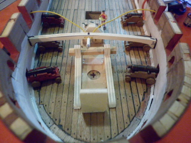 HMS Surprise di Patrik O' Brian secondo Brian Lavery... autocostruita. - Pagina 3 P1000374