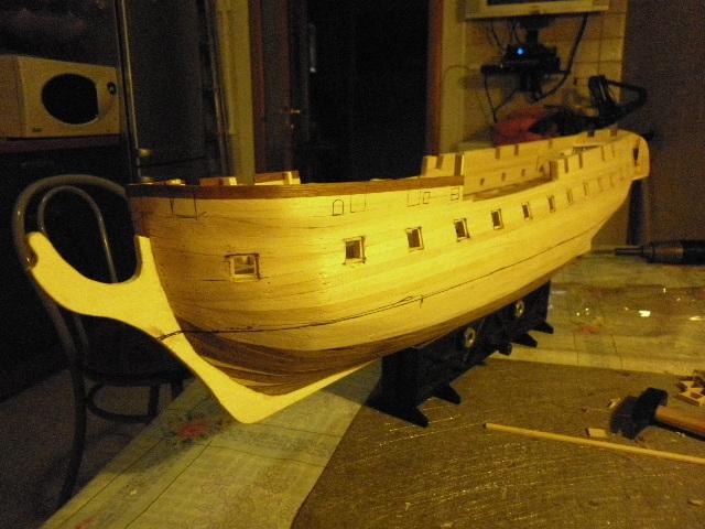 HMS Surprise di Patrik O' Brian secondo Brian Lavery... autocostruita. P1000813
