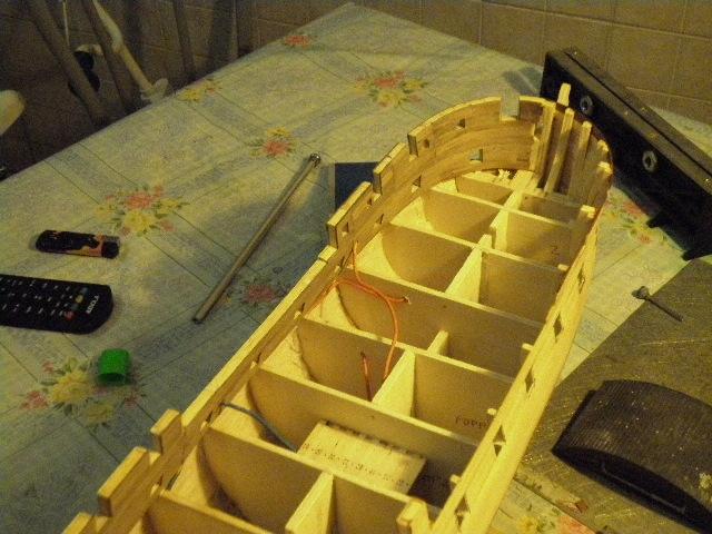 HMS Surprise di Patrik O' Brian secondo Brian Lavery... autocostruita. P1000816