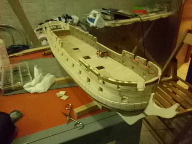 HMS Surprise di Patrik O' Brian secondo Brian Lavery... autocostruita. - Pagina 2 P1000912