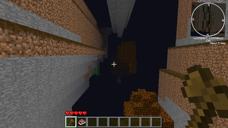 A peek into the world of Endermen (The Far Lands) 2011-012
