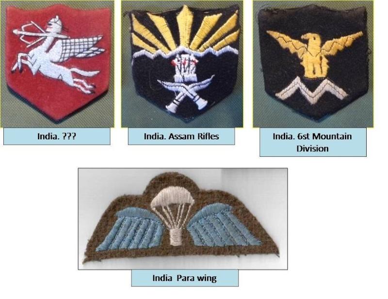 Indai - military insignias 112