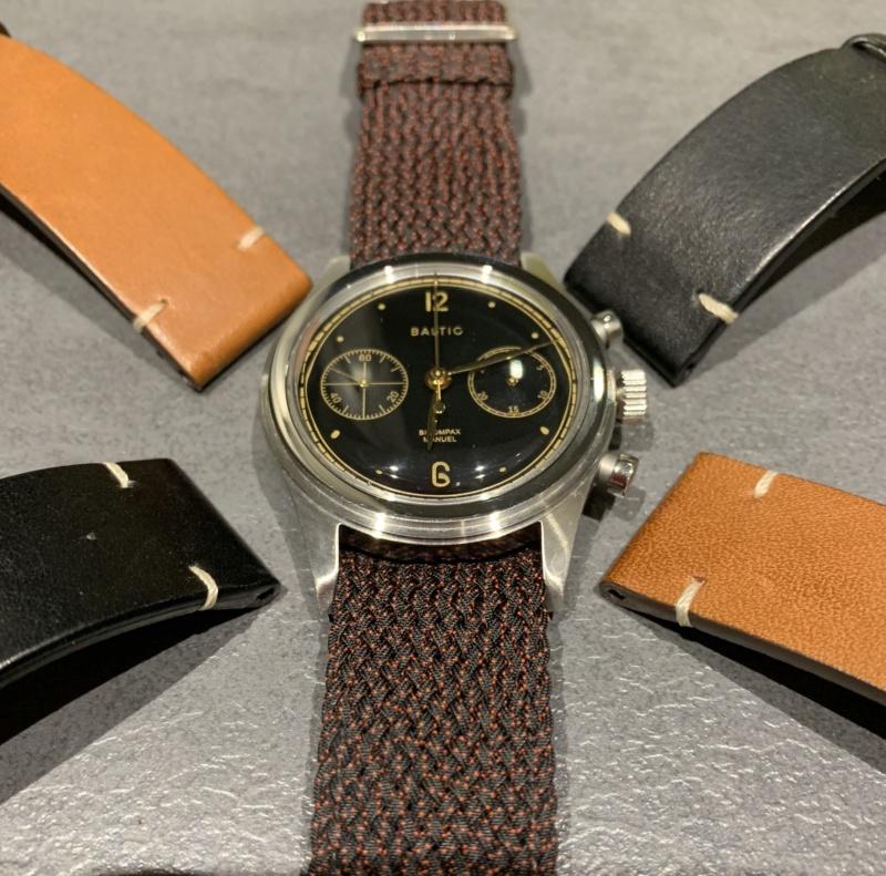 [Baisse de prix][Vends] Chronographe Bicompax 001 - Noir Gilt - 460€ Img_3311