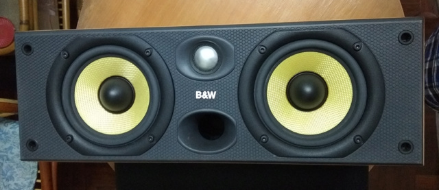 B&W CC6 S2 center speaker 214