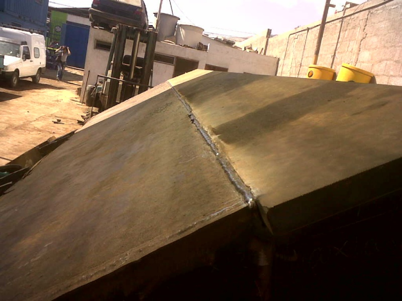 RECONSTRUCCION DE UN CUCHARON DE CATERPILLAR 980 Img01110