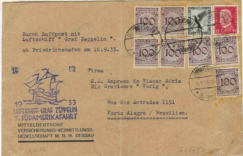 Südamerikafahrten LZ 127 1933 232_aa11