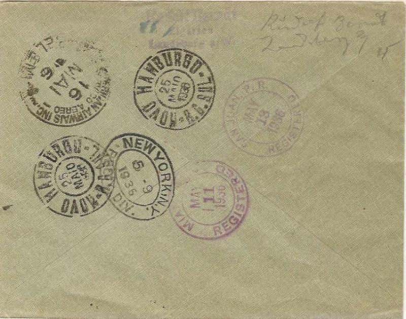 Zeppelinpost mit Zusammendrucken 406_c_10