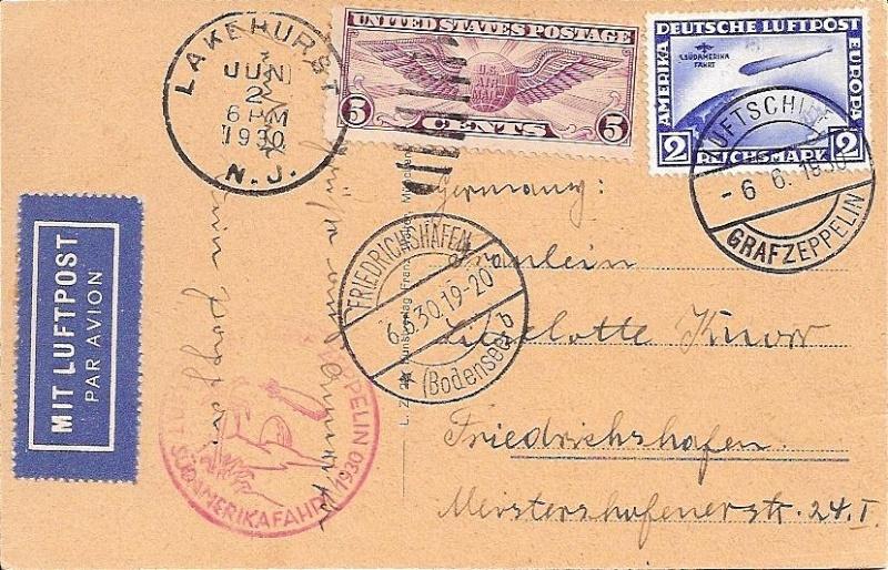 Zeppelinpost der Besatzung 57_g_k10