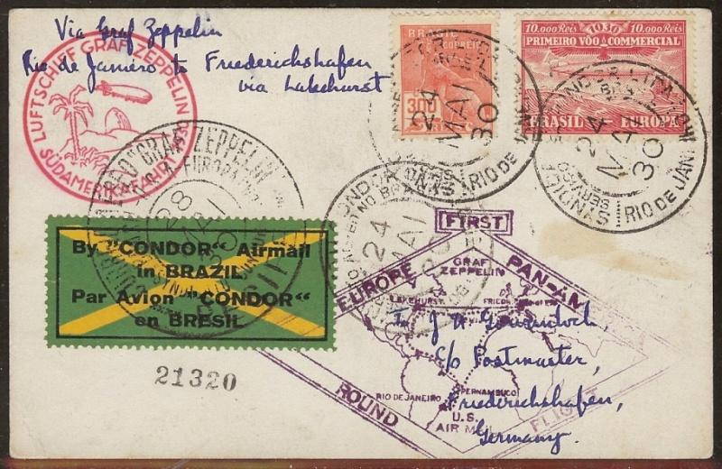 """Südamerikafahrt 1930 (Rundfahrt-) Post nach Friedrichshafen"""" - Seite 6 59_b_d10"""