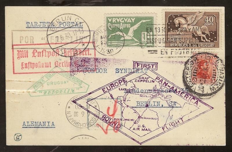 """Südamerikafahrt 1930 (Rundfahrt-) Post nach Friedrichshafen"""" - Seite 3 61_b_f10"""