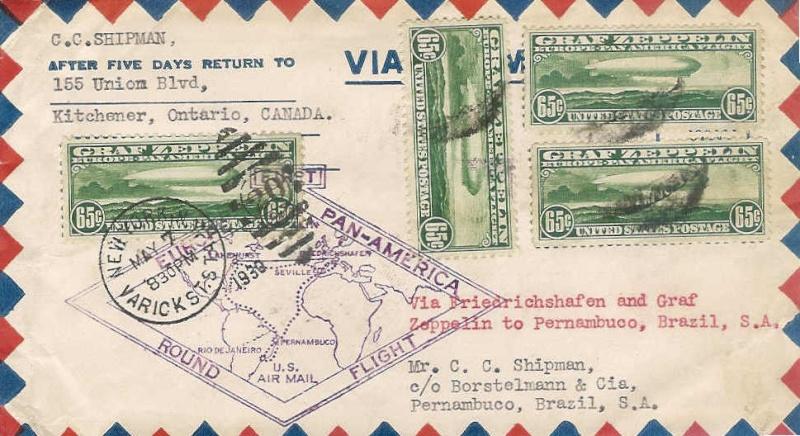 Südamerikafahrt 1930, Post nach Pernambuco - Seite 2 64_a_p10